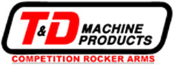 T&D Machine Products - Competition Rocker Arms
